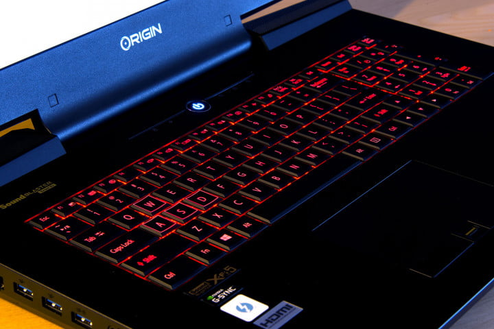origin eon  slx review trackpad