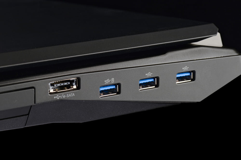 Origin EON17 SLX Review usb ports