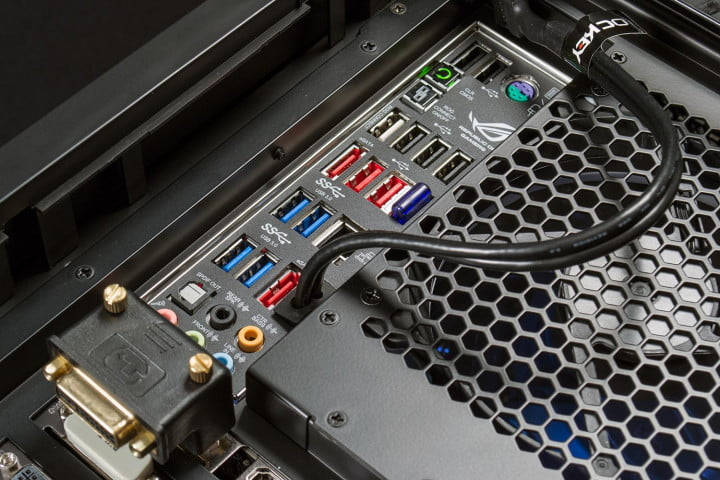 origin millennium  review genesis gaming desktop top ports macro