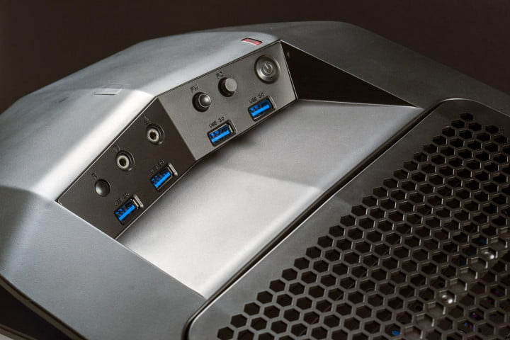 origin millennium  review genesis gaming desktop top usb ports
