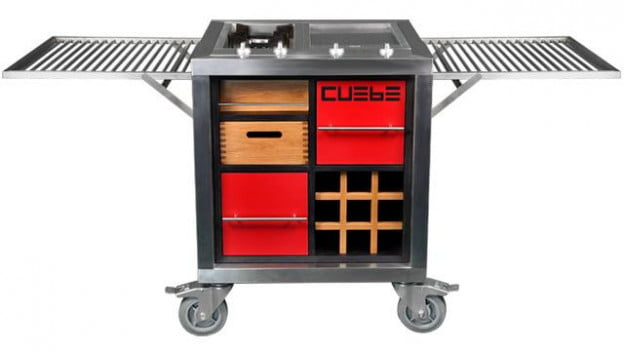 Cuebe Grill Expanded