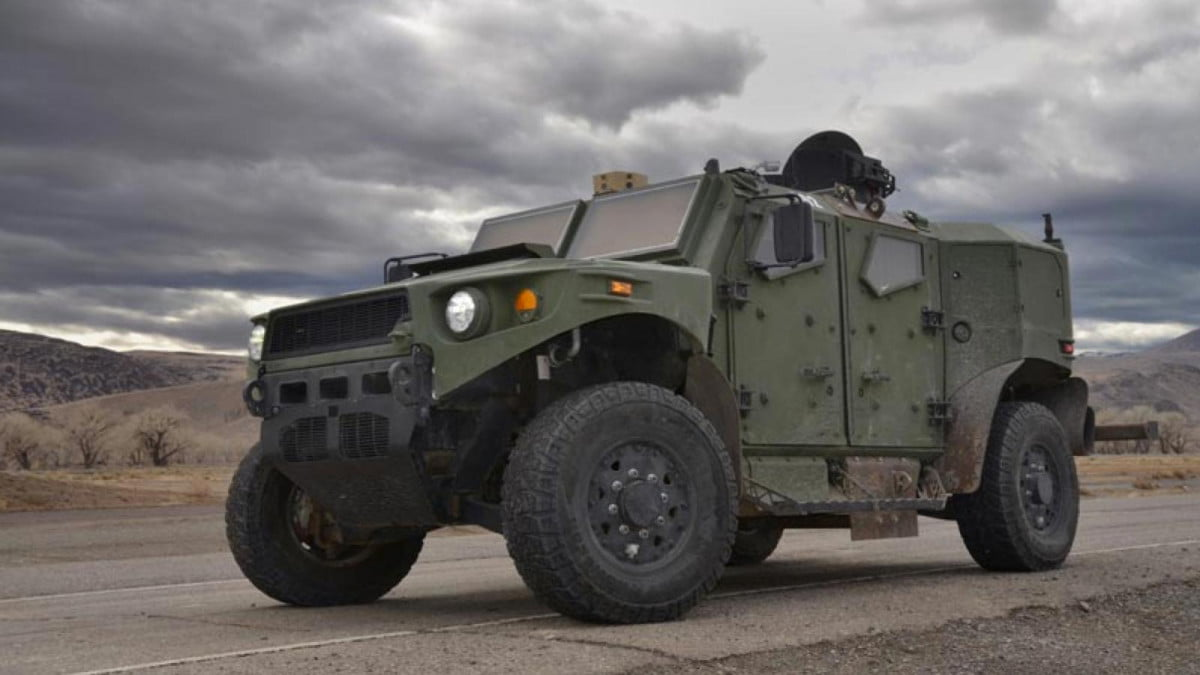 tardec ulv a subaru powered hybrid humvee replacement prototype