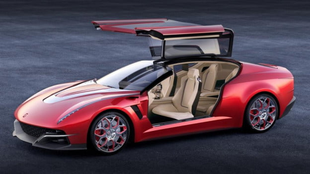 Italdesign Brivido doors open