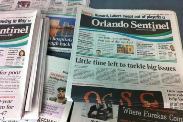 orlando sentinel latest newspaper replace traditional photography iphones