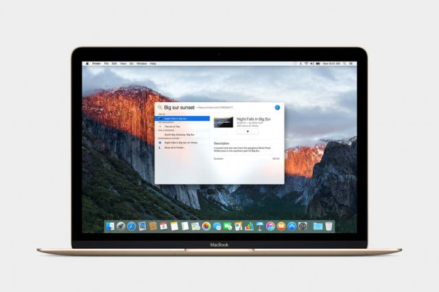 ready to see what el capitan has offer mac users we are too and heres think well os x spotlight