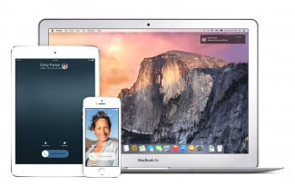 os x yosemite desktop device sync