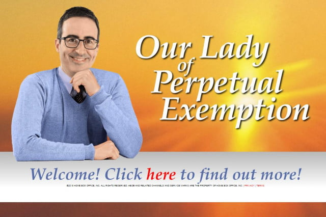 demonstrating the power of journalism john oliver may prompt irs crackdown our lady perpetual exemption