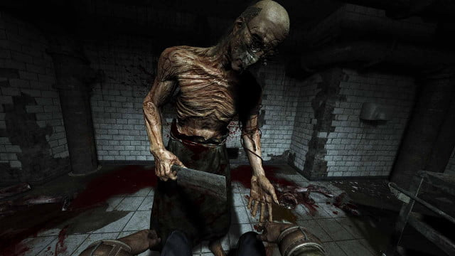 outlast brings free first person horror playstation  february via ps plus