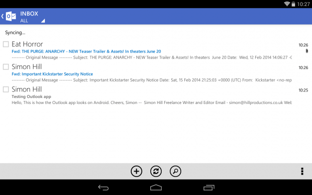 Outlook.com_Android_tablet_app_screenshot