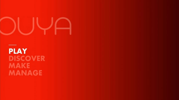 ouya review software interface home screen
