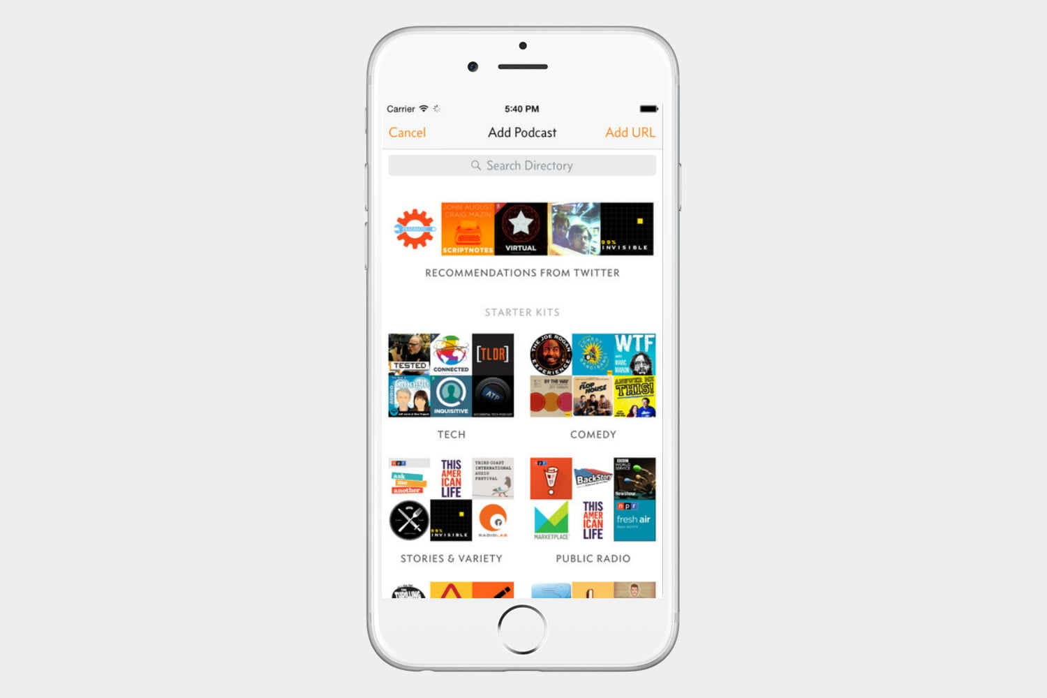 how to make a podcast playlist on iphone