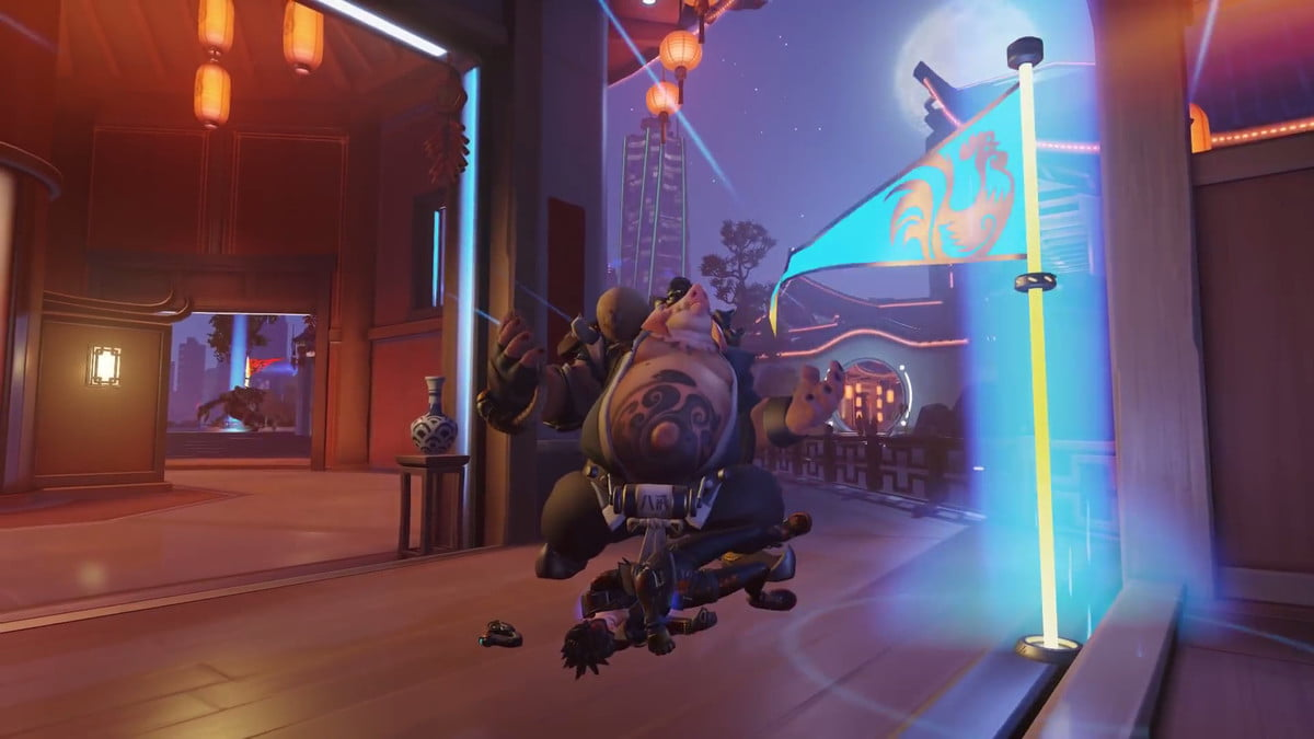 overwatch capture the flag rooster