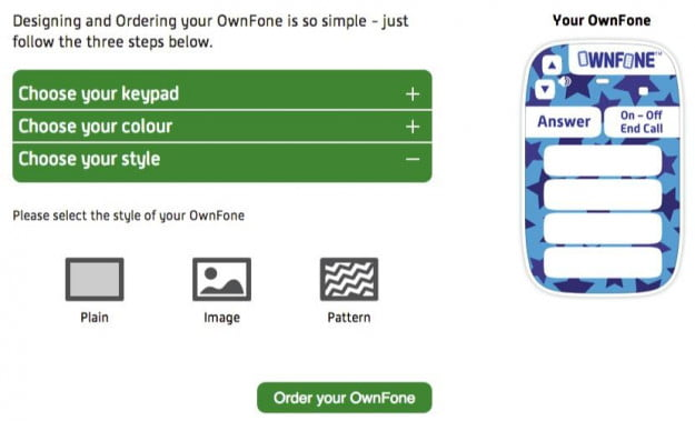 Ordering your own OwnFone