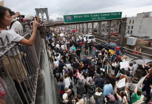 OWS Brooklyn Bridge