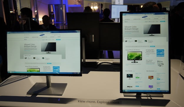 eyes on samsung shows off its new monitors at ces p