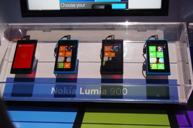 Nokia Lumia 900 - full spread - CES 2012