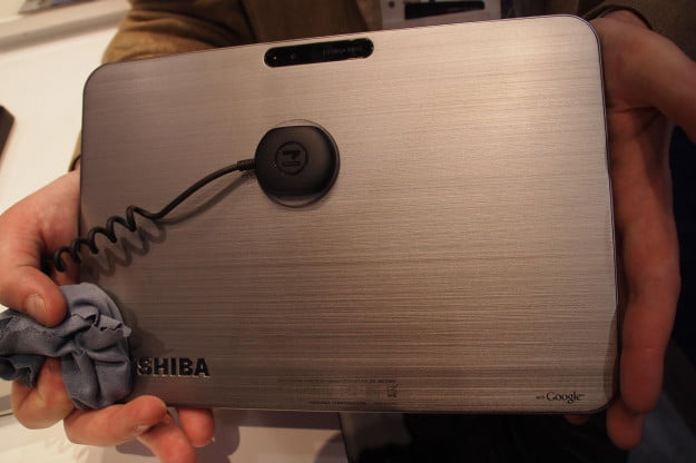 Toshiba Excite X10 magnesium alloy shell