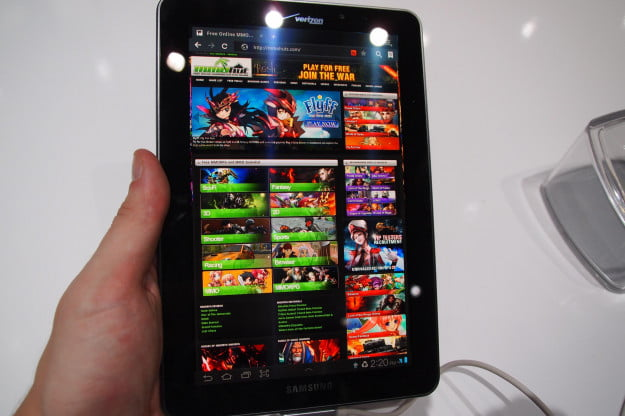 Samsung Galaxy Tab 7.7 LTE - AMOLED screen