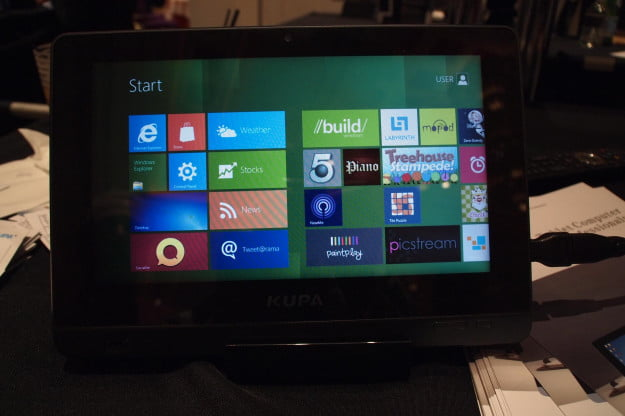 Kupa Windows 8 tablet