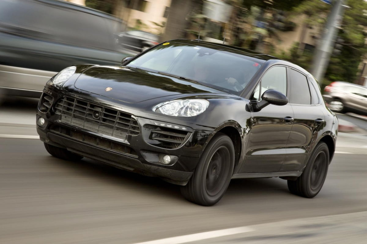 many choices  porsche macan cuv offered turbo v diesel slightly larger p a rgb
