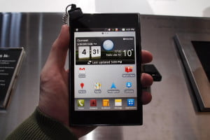 LG Optimus Vu at MWC