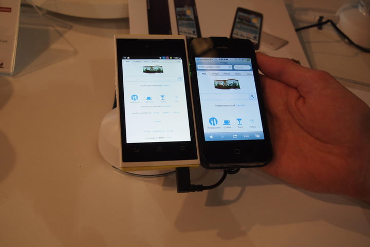 viewsonic viewphone  s hands on video transplanted iphone display and two sims