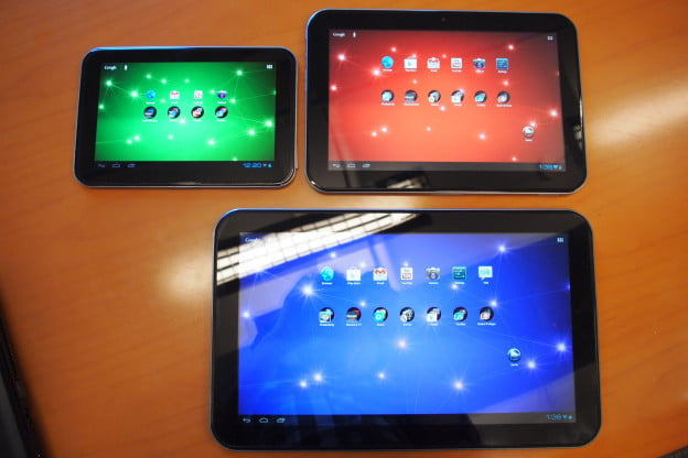 Toshiba Excite tablets