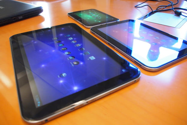 Toshiba tablet blowout: Photos and impressions of the new ...