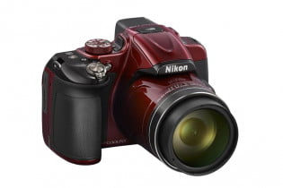 Nikon Coolpix P600 in red