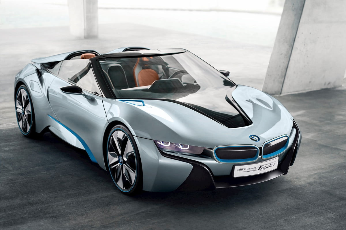 bmw i  convertible coming in ceo says spyder concept