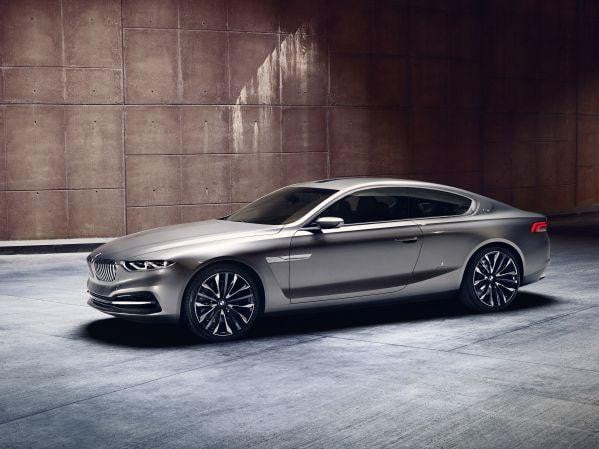 BMW Gran Lusso Coupe front three quarter