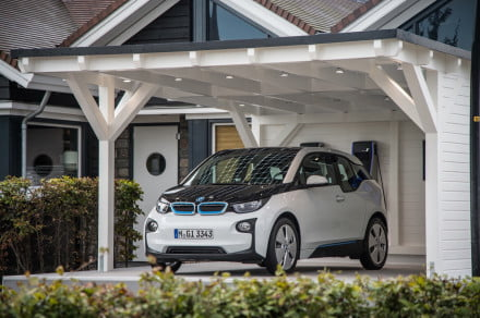 BMW i3 and smart home