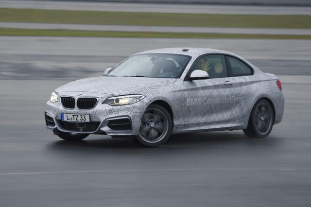 bmw activeassist introduced at ces  series with