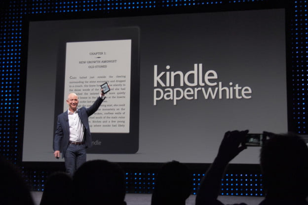 amazon announces kindle paperwhite