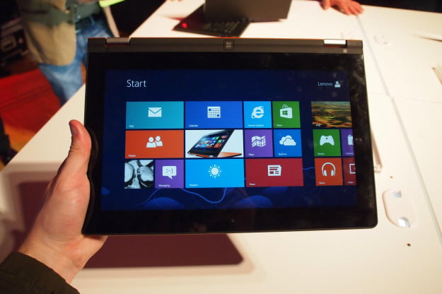 Lenovo IdeaPad Yoga 11 Tablet Mode