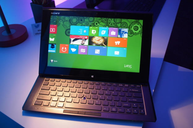 Sony VAIO Duo 11 - Homescreen