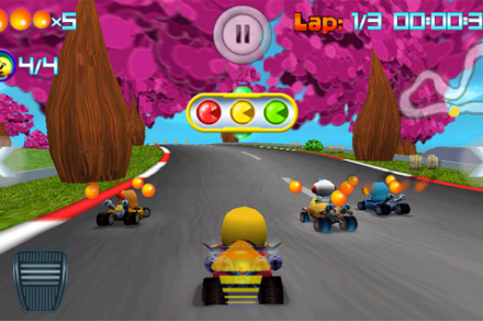 Pac-Man Kart Rally