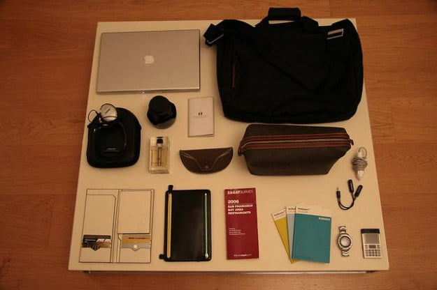 Packing electronics for travel