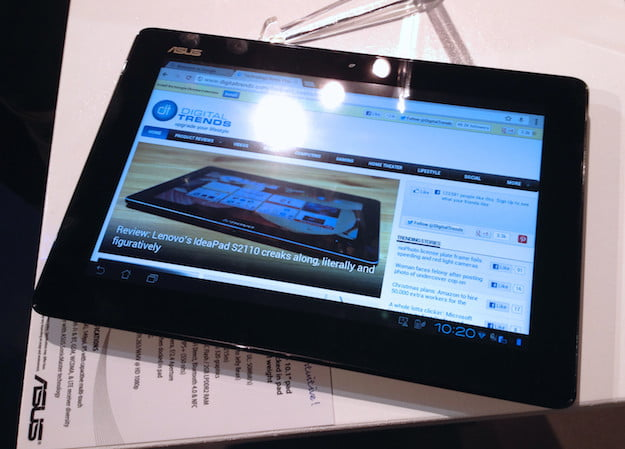 Padfone 2 Hands-on Tablet