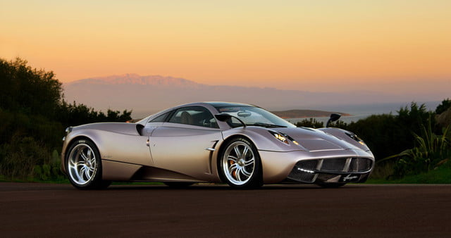 pagani officially sells out entire production run of the huayra
