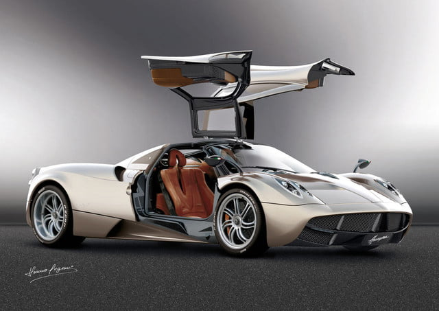 pagani huayra production starting in september