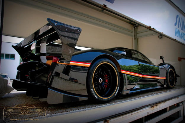 Pagani-Zonda-R-Evolution