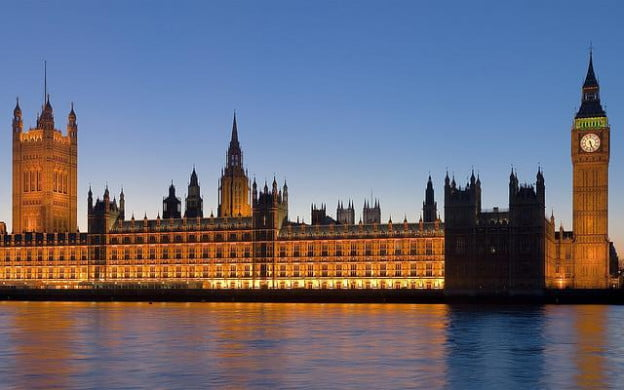Palace of Westminster by Trodel via Flickr
