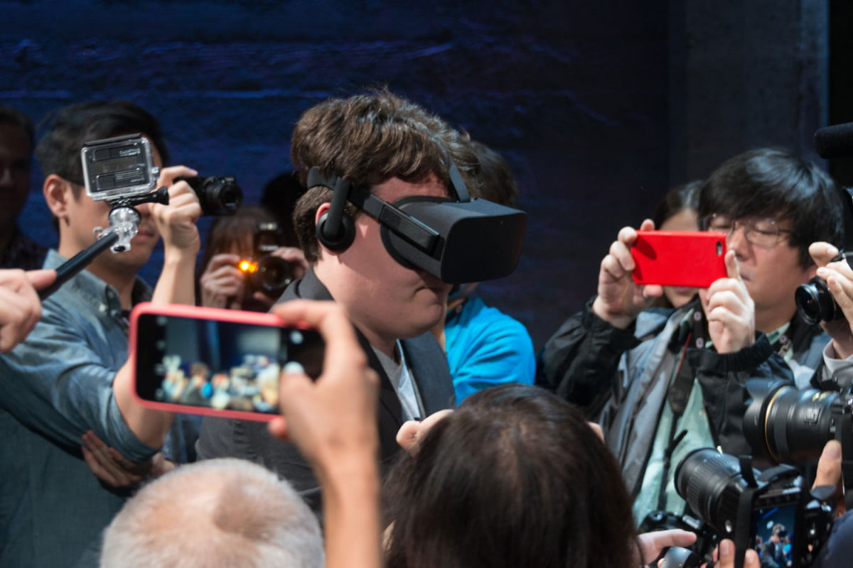 oculus teases special announcement game awards palmer luckey vr virtual reality