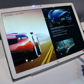 Panasonic 20 inch Windows 8 4K Tablet