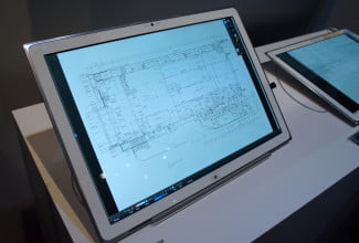 Panasonic 4K Tablet architect's tool