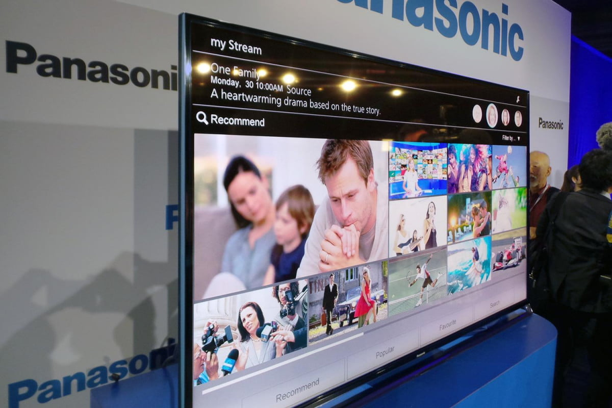 panasonic announces  k led tv lineup touts plasma like p tvs ultra hd