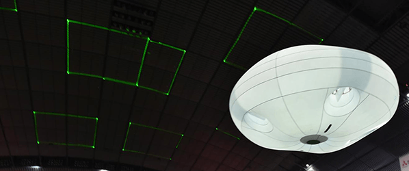 Panasonic's puffy Ballooncam is adrone safe enoughto soar above crowds