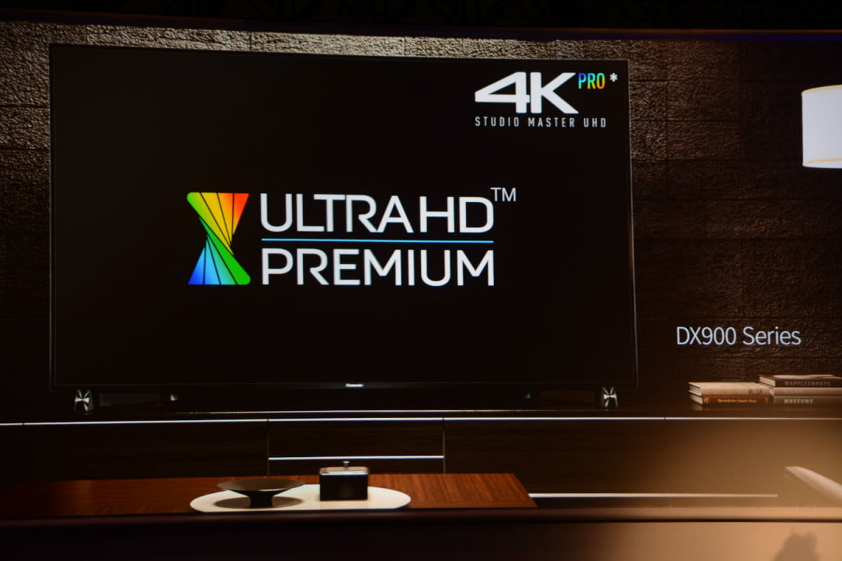 panasonic intros dx  led tv series promises ultra hd oled and blu ray in k lultra