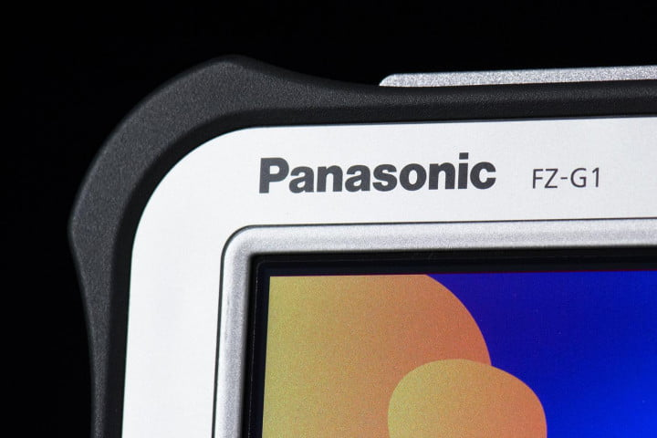 panasonic toughpad fz g  review tablet corner macro screen
